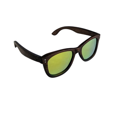 Dark Wood Wayfarer Sunnies