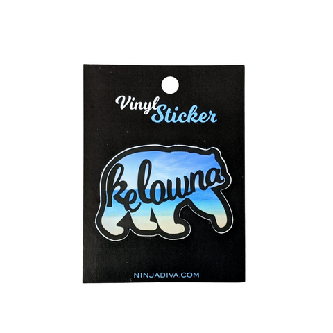 Kelowna Bear Sticker