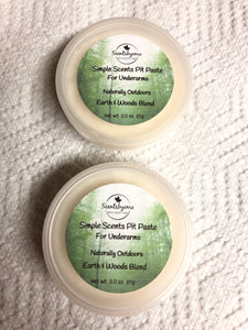 Simple Scents Pit Paste - Naturally Outdoors Earth & Woods Blend
