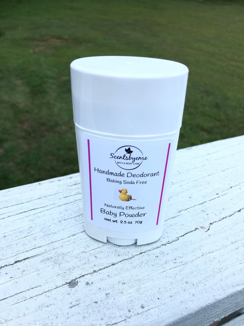 Handmade Deodorant - Baby Powder Naturally Effective