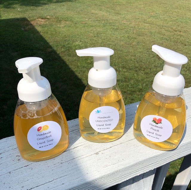 Handmade Liquid Soaps - Scented or Unscented