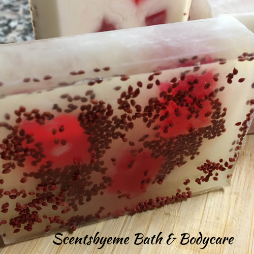 Cranberry Salsa Twist Soap - Scentsbyeme Bath & Body Care