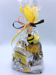 """Just Buzzin Around""  Honey & Bath gift set - Made with Real Honey !"