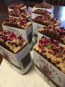 Cocoa Peppermint Rose Soap - Scentsbyeme Bath & Body Care