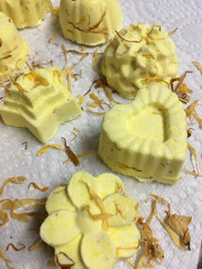 Sweet Orange Calendula Shower Steamers - Scentsbyeme Bath & Body Care