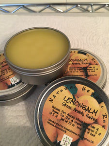 LemonBalm Natural Herbal Rub - Scentsbyeme Bath & Body Care