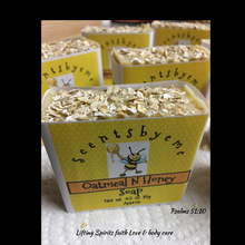Oatmeal N Honey Soap - Scentsbyeme Bath & Body Care