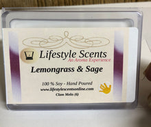 Scented 100%  Soy Wax Clam Melts - Hand Poured
