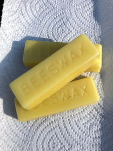 Pure Beeswax from the hive - G & R Bee Farm