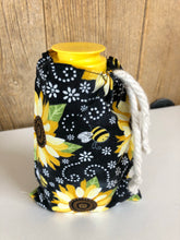 Drawstring handmade material gift bag - assorted styles