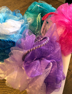 Bath Loofah Sponge - assorted colors