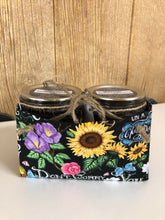 Double handmade material gift box  -  assorted styles
