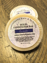 Solid Conditioner Bar  -  Lavender