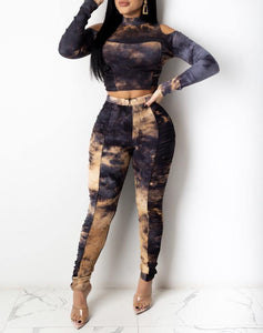 Just The Half Of It Pant Set - Exotic Fashion Boutique