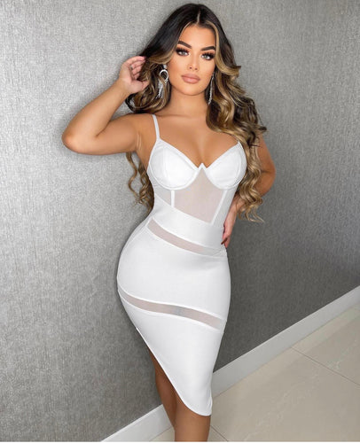 White Party Mini Dress