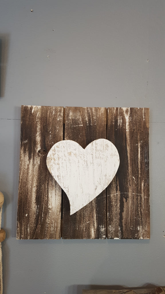 Rustic Wooden Heart Wall Decor