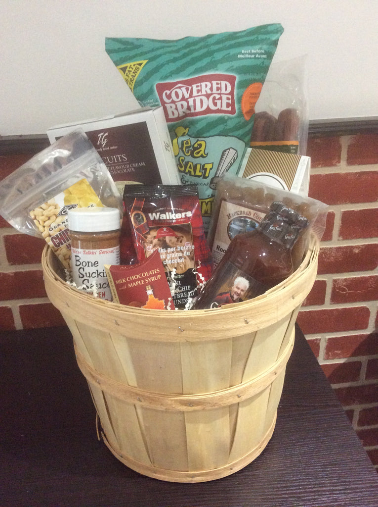Gourmet Gift Basket- The Sweet and Salty Basket - -Lemongrass Boutique