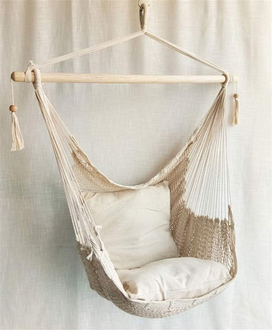 Hammock Chair with 2 Cushions -  -Lemongrass Boutique