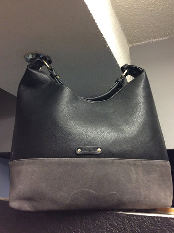 Black and Grey Tote Purse -  -Simply Noelle