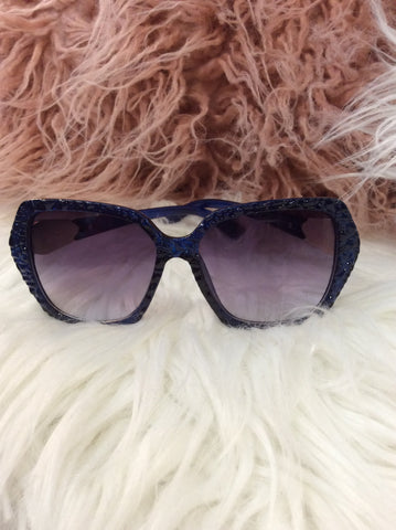 Sunglasses Blue SUN21 -  -Lemongrass Boutique