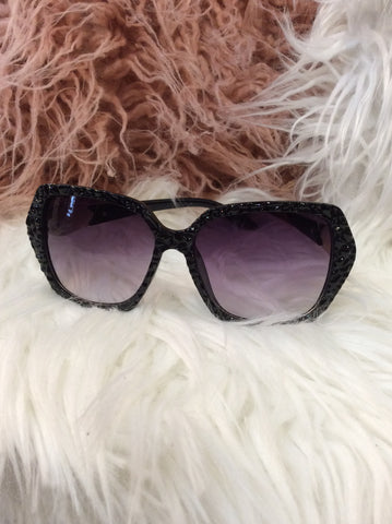 Sunglasses Black SUN23 -  -Lemongrass Boutique