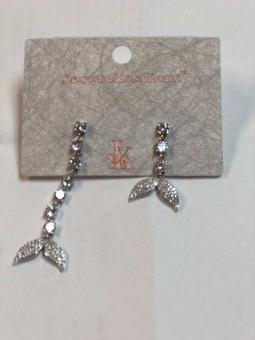 Jacqueline Kent MERMAID SILVER EARRINGS JKE462.SI -  -Jacqueline Kent