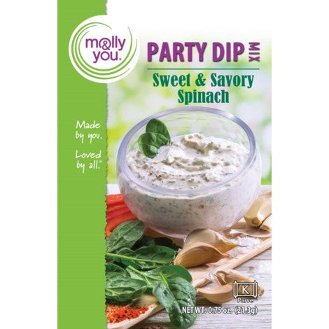 Sweet and Savory Spinach Dip Mix -  -Lemongrass Boutique