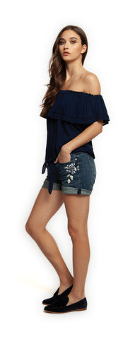 Dex Off the Shoulder Top 1323040 -  -Dex