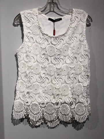 Ness Lace Sleeveless Top N75323 -  -Ness
