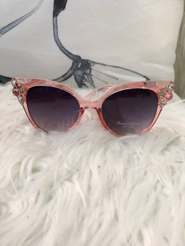 Sunglasses Pink with Bling SUN25 -  -Kenneth Bell