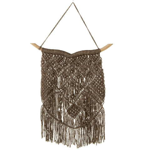 Hand Woven Charcoal Marble Macrame Wall Hanging (each one will vary) -  -Lemongrass Boutique