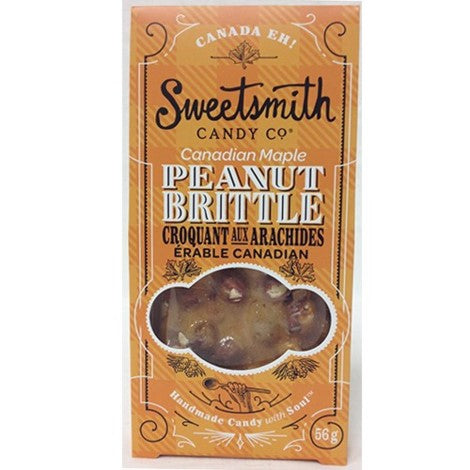 Peanut Brittle Maple 56g -  -Lemongrass Boutique