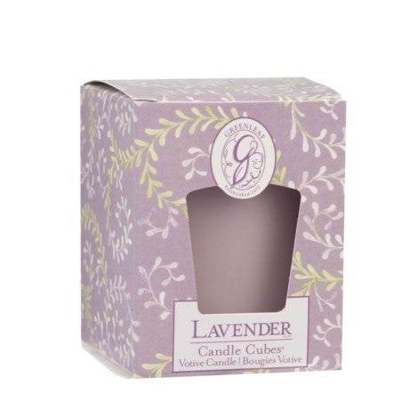 BOXED VOTIVE LAVENDER -  -Lemongrass Boutique