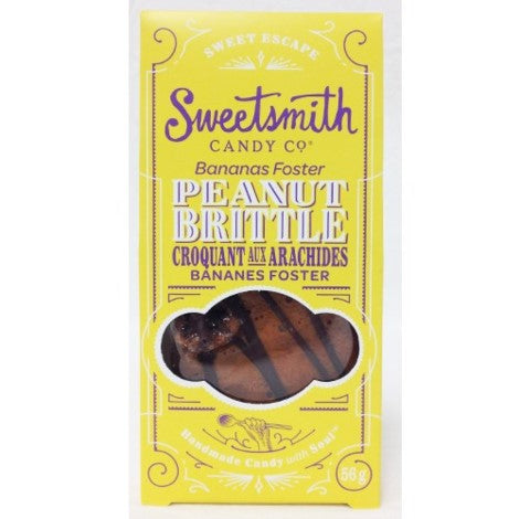 Peanut Brittle Bananas Foster 56g -  -Lemongrass Boutique