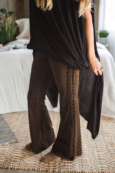 Belladonna Lace Flared Pants