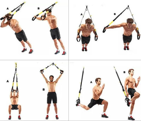 P3 Full Workout TRX Bundle Set – SUNFAYER