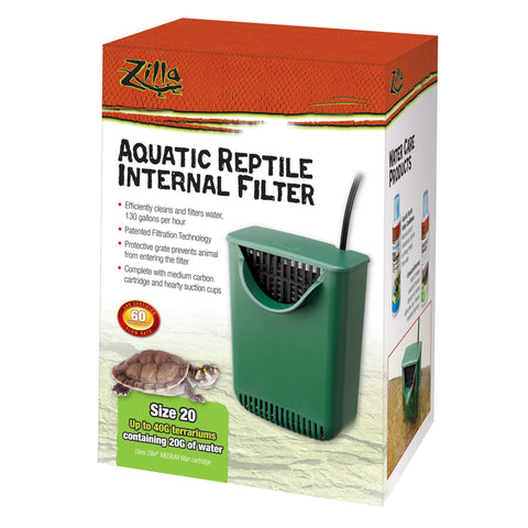 Zilla Aquatic Reptile Internal Filter