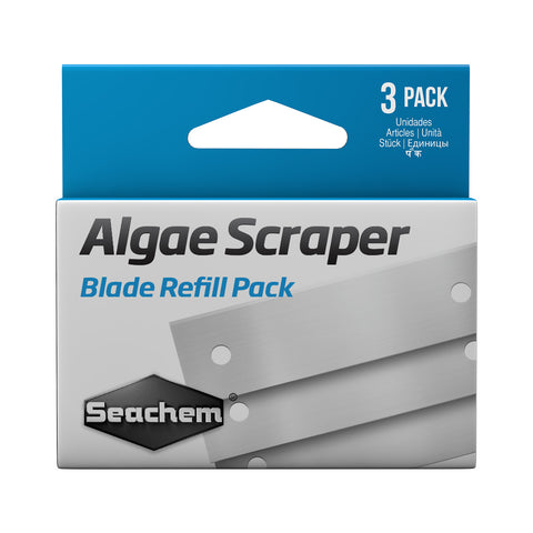Seachem Algae Scraper Replacement Blades - 3 pk