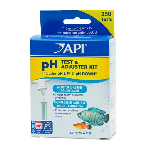 pH Test & Adjuster Kit - Freshwater Item