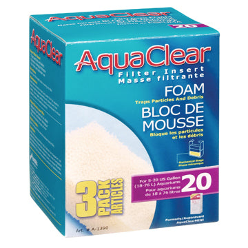 AquaClear Foam Filter insert 3 pack
