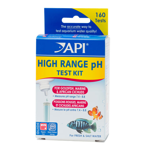 High Range pH Test Kit - Freshwater/Saltwater