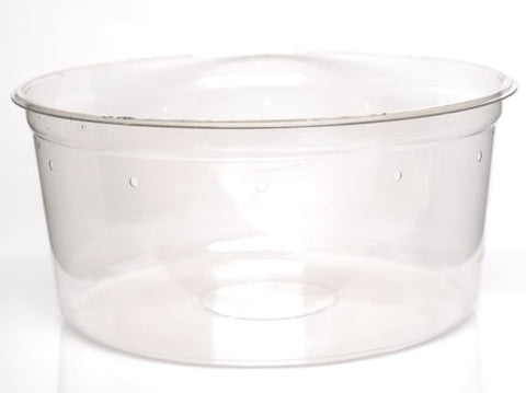 "Super Clear Cups (Pre-punched) 6.75"" - 10 Pack"