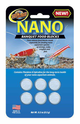 Zoo Med Nano Banquet Food Blocks