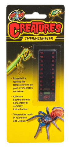Zoo Med Creatures Adhesive Thermometer