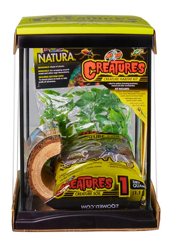 Zoo Med Creatures Habitat Kit 3 Gallon