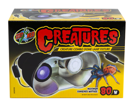 Zoo Med Creatures™ Combo Dome Lamp Fixture