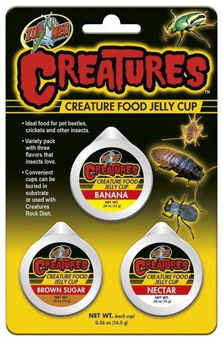 Zoo Med Creatures Food Jelly Cup