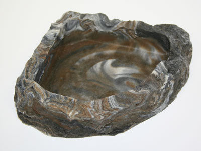 Habi-Scape Medium Corner Bowl