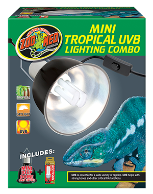 Zoo Med Mini Tropical Lighting Combo