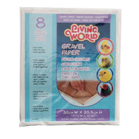 Living World Gravel Paper Rectangle - 8 Pack